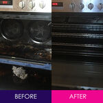 Ballarat Vacate Cleaners - Before and After Oven