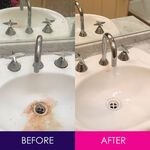 Ballarat Vacate Cleaners - Before and After Sink